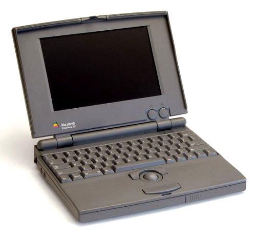 Le premier vrai portable : le Powerbook 100 sorti en 1991