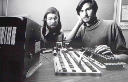 Steve Jobs et Steve Wozniak