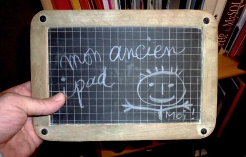 mon ancien ipad en CE2 ;-)